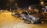 Yeni yılın ilk kazası 1'i ağır 3 yaralı