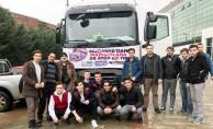 Gönüllülerden Afrin ve İdlib yardımı