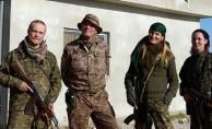 İşte YPG'deki yabancı teröristler! Gizli odadan çıktı