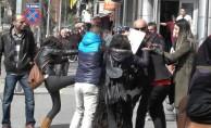 Sokak ortasında kadın kavgası