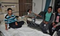 116 öğrenci gıda zehirlenmesinden hastaneye kaldırıldı