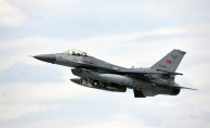 Afrin'de dağlık alanlara kaçan teröristleri, Türk jetleri vurdu