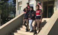 Bursa'da devriye gezen jandarma yakaladı!