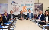 Bursa'da İstihdam Fuarı'nın imzaları atıldı