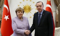 Cumhurbaşkanı Erdoğan, Merkel ile Suriye'yi görüştü