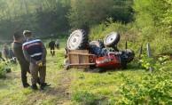 Traktörün altında feci şekilde can verdi!