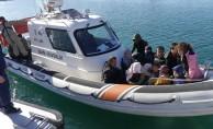 Yunanistan'a geçmek isteyen 17 kaçak göçmen yakalandı!