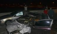 Adana'da park halindeki üç otomobil yandı