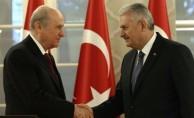 Başbakan ve Bahçeli Erdoğan'ın adaylığı için YSK'da