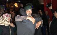 Bursa'da Afrin kahramanları sevinç gözyaşlarıyla karşılandı