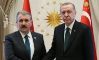 Cumhurbaşkanı Erdoğan'dan BBP ziyareti
