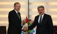 Cumhurbaşkanı Erdoğan, Destici görüşmesi sona erdi