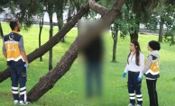 Dehşet! Ağaca asılı ceset bulundu