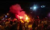 Galatasaray şampiyonluğu Bursa'da coşku ile kutlandı