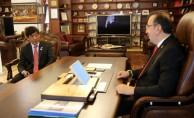 Japon Büyükelçi Miyajima Nevşehir'de