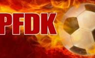 PFDK'dan ceza yağdı!