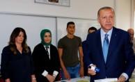 İşte Erdoğan'ın oy kullandığı sandığın sonuçları!