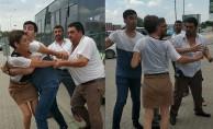 Bursa'da halk otobüsünün tehlikeli manevrası kavga çıkardı