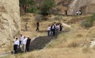 Büyükelçiler Kapadokya'yı gezdi
