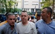 GÜNCELLEME  ABD'li papaz Brunson'ın tutukluluğu ev hapsine çevrildi
