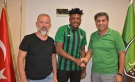 Denizlispor, Nijeryalı Salami'yi transfer etti