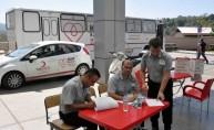 Hastane personelinden kan bağışına klipli destek
