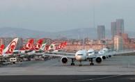 Havayolu yolcu sayısı 7 ayda 120 milyonu aştı