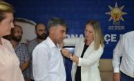 İzmir'de AK Parti'ye katılım
