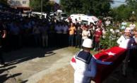 Kalp krizi geçiren askerin cenazesi defnedildi