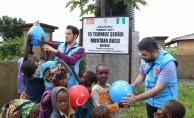 Türkiye Diyanet Vakfı heyetinden Nijerya'daki Türk okuluna ziyaret