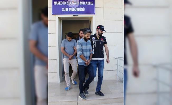 Uşak'taki uyuşturucu operasyonu