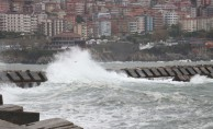 Zonguldak'ta rüzgar