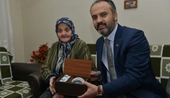 Aktaş'tan örnek vatandaşa sürpriz ziyaret