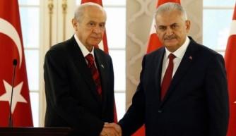 Başbakan, Bahçeli ile görüşecek