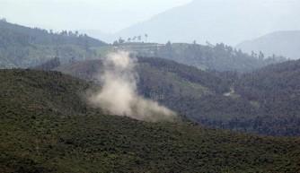 Esed rejimi Türkmendağı'na yoğun saldırı başlattı