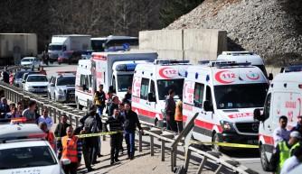Bursa Mezitler'de kaza! 7 ölü, 34 yaralı