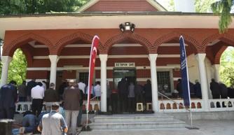 Kültürpark Camii hizmete açıldı