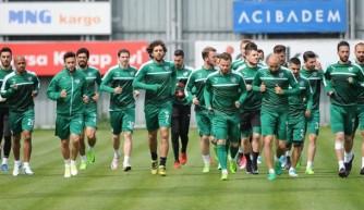 Bursaspor'da hazırlıklar tamam!