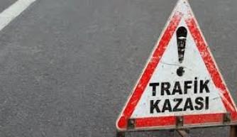 Erzurum'da trafik kazası: 1 ölü