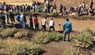 Çocuklar balçıklı suya düştü: 3 ölü