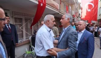 Ala'dan Bursa'da şehit ailelerine ziyaret
