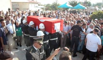 Şehit polis Kahramanmaraş'ta son yolculuğuna uğurlandı