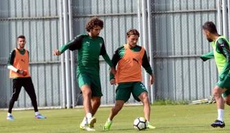 Bursaspor ara vermeden Kayserispor maçı hazırlıklarına başladı