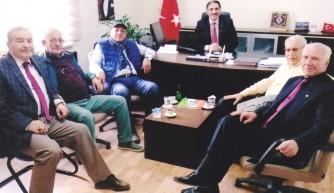 Bursa'da Maliyeciler meslektaşlarını ziyaret ediyor
