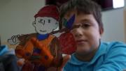 Bursa'da Kukla ve Gölge Oyunları Festivali keyfi sürüyor