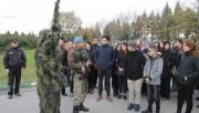 Bursa'da öğrenciler jandarmanın tatbikatını hayranlıkla izledi