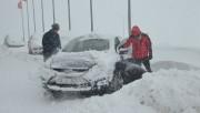 Uludağ'da kar kalınlığı 123 santimetreye ulaştı