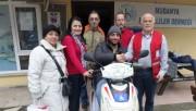 Bursa'da engelli vatandaşa anlamlı hediye
