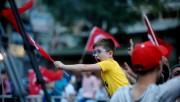 Bursa'da AK Partililerden seçim kutlaması