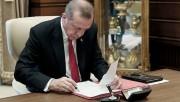 Cumhurbaşkanı kararı Resmi Gazete'de